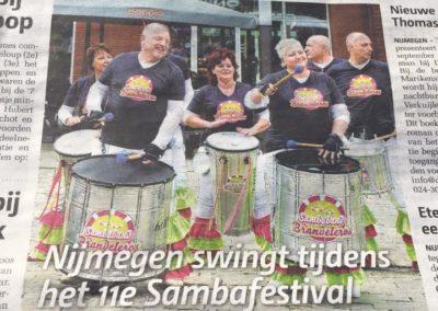 17 sambafestival Nijmegen Brandeleros (1)